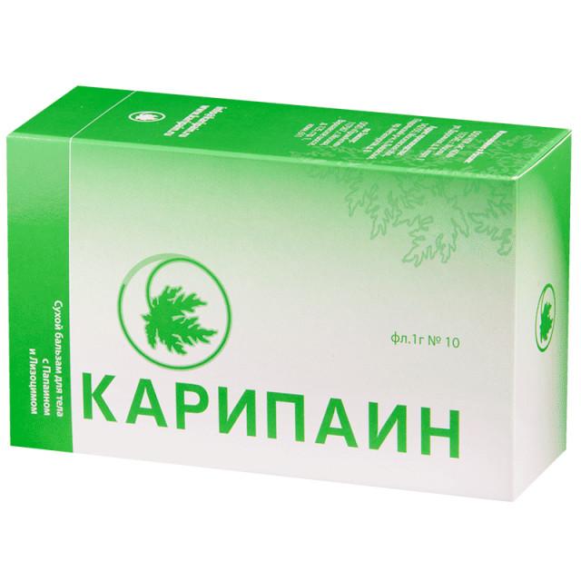 Карипаин бальзам для тела сухой №10 купить в Москве по цене от 1640 рублей