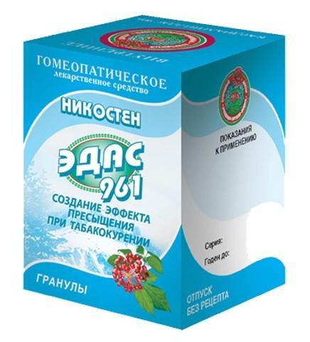 Эдас-961 Никостен (никотин. зависим.) гранулы 20г купить в Москве по цене от 0 рублей