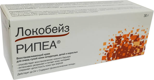 Локобейз рипеа крем 30г купить в Москве по цене от 500 рублей