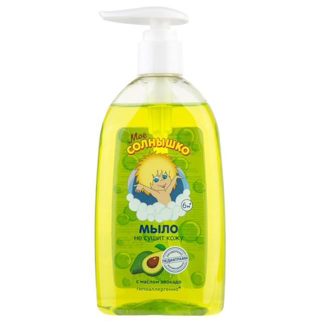 Мое солнышко мыло жидкое авокадо 300мл купить в Москве по цене от 77 рублей