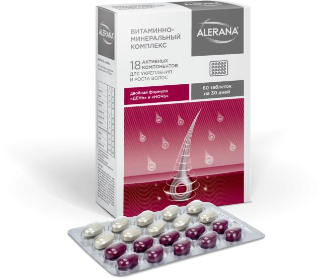 Алерана Формула День/Ночь таблетки №60 купить в Москве по цене от 670 рублей