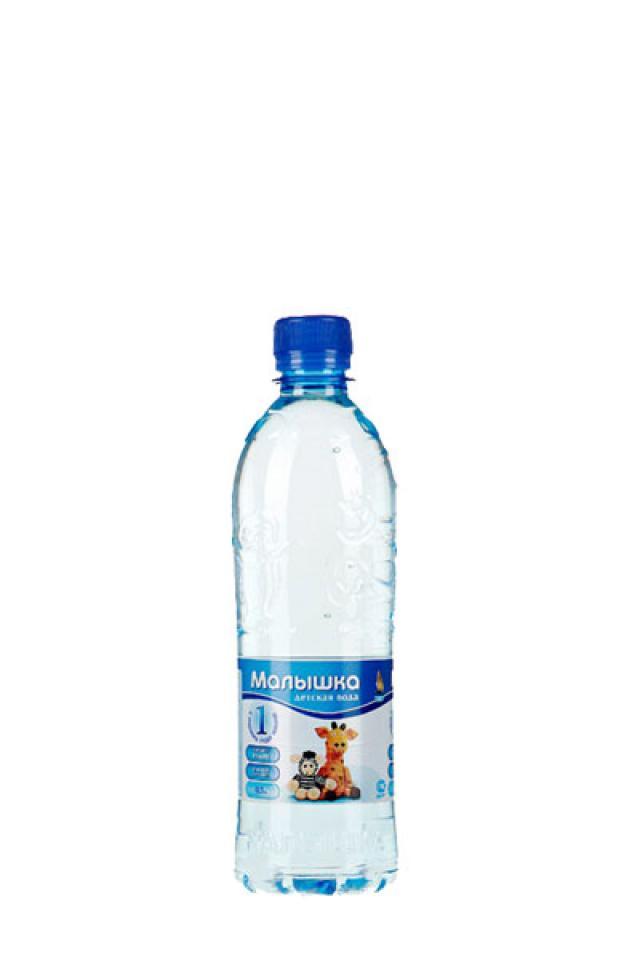 Вода минеральная Малышка 0,5л купить в Москве по цене от 36 рублей