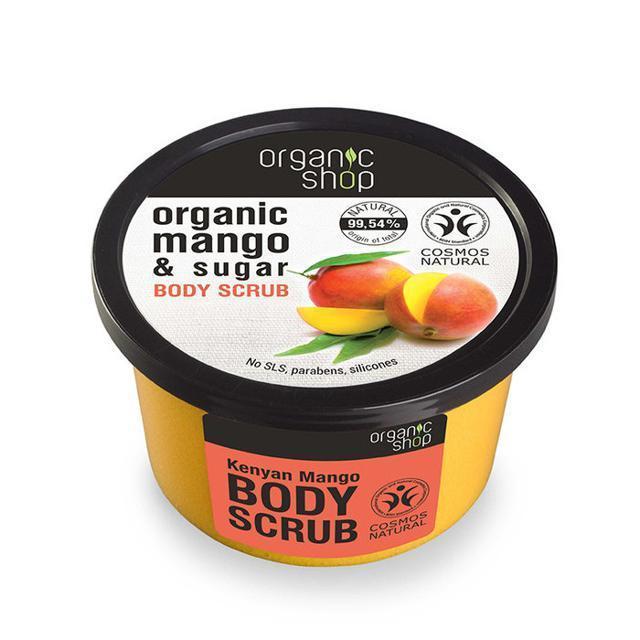 Органик Шоп скраб для тела Кенийск.манго 250мл купить в Москве по цене от 220 рублей