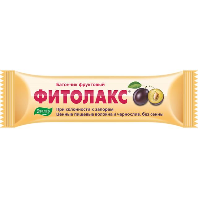 Фитолакс фрукт. батончик Эвалар 50г купить в Москве по цене от 108 рублей