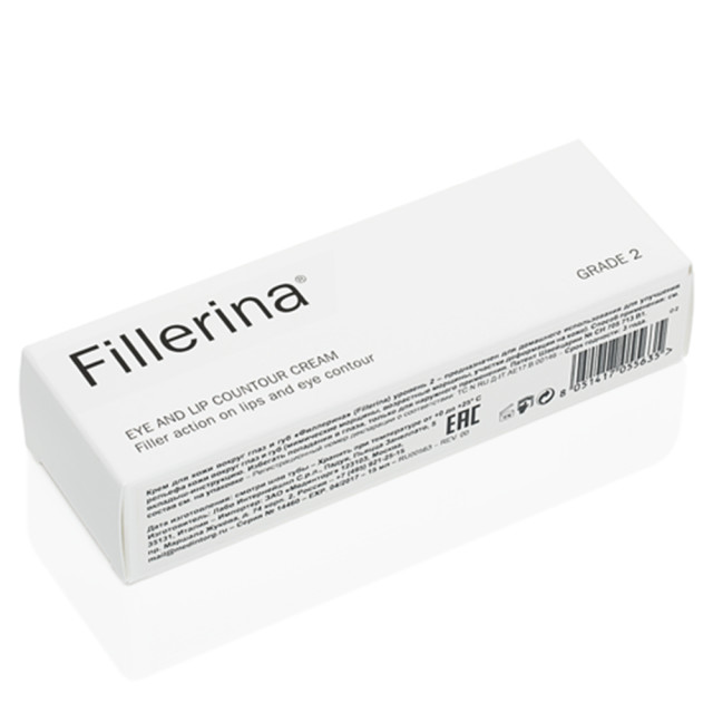 Филлерина крем для губ и контура глаз ур.2 15мл купить в Москве по цене от 6100 рублей