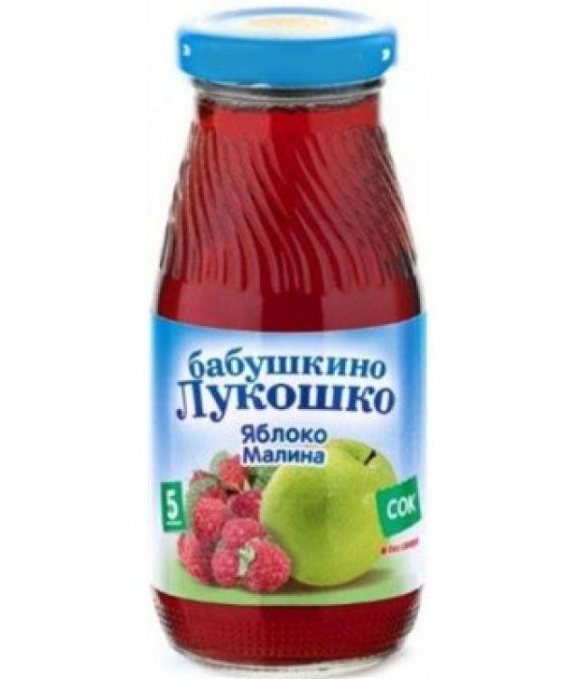 Бабушкино лукошко сок яблоко/малина осветл. от 5мес. 200мл купить в Москве по цене от 0 рублей