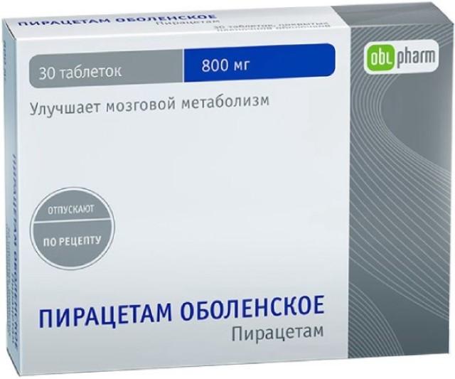 Пирацетам таблетки 800мг №30 купить в Москве по цене от 88.5 рублей