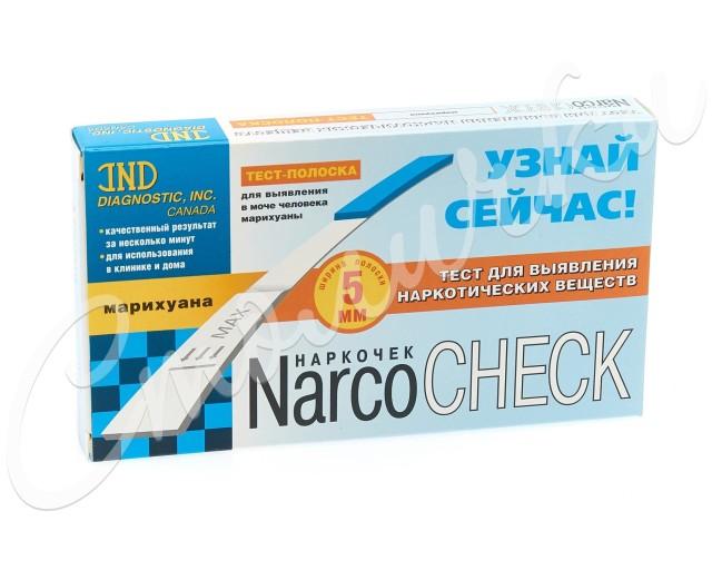 Тест Наркочек д/выяв. марихуаны в моче купить в Москве по цене от 68 рублей