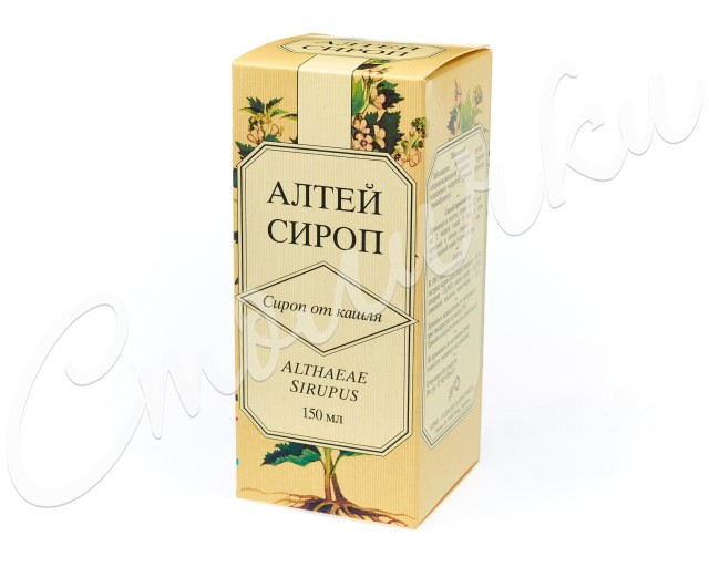 Алтей сироп 2% 150мл купить в Москве по цене от 204 рублей