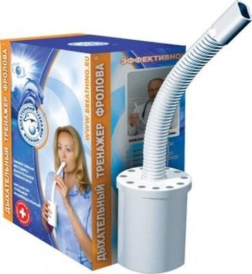 Ингалятор тренажер дыхательный индивид. (Фролова) купить в Москве по цене от 478 рублей
