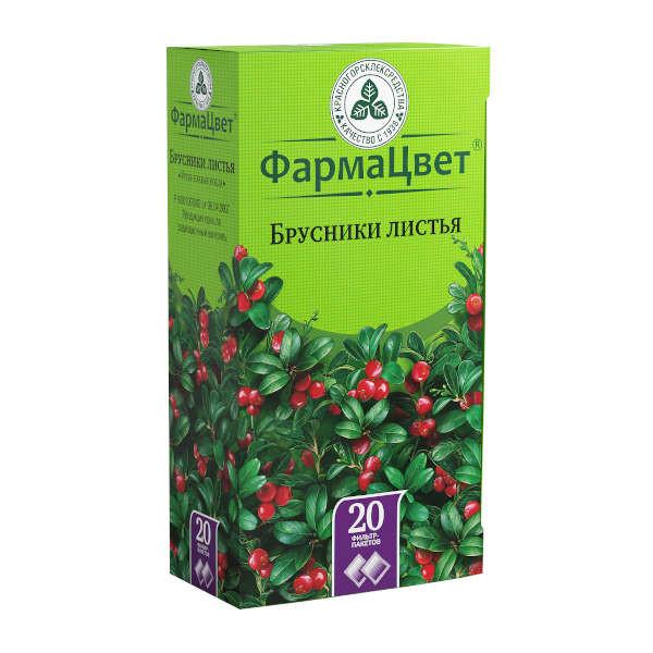 Брусника листья 1,5г №20 купить в Москве по цене от 94 рублей
