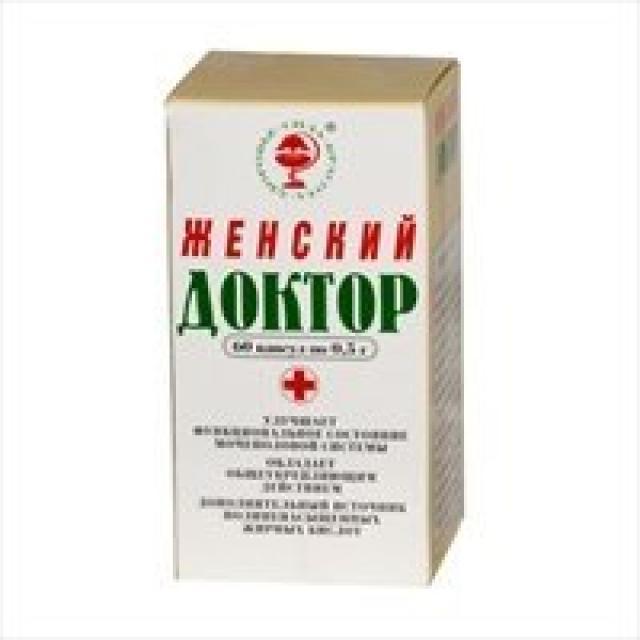 Женский доктор капсулы 500мг №60 купить в Москве по цене от 0 рублей
