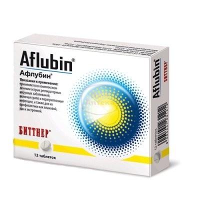Афлубин таблетки гомеопатические №12 купить в Москве по цене от 292 рублей