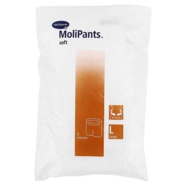 Хартманн Молипанц Софт штанишки для фиксации прокл. L №5 (947797) купить в Москве по цене от 413 рублей