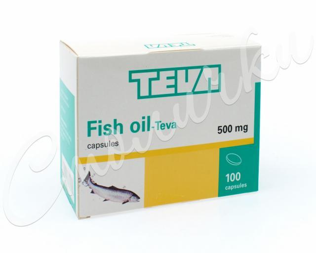 Рыбий жир капсулы 500мг №100 купить в Москве по цене от 0 рублей