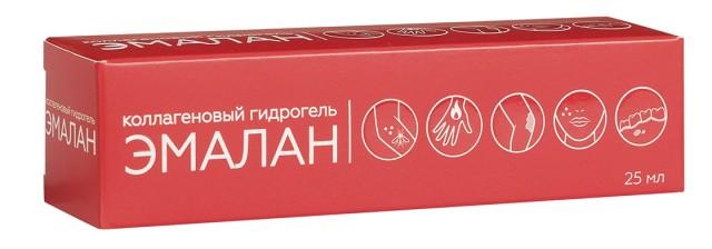 Эмалан гидрогель коллагеновый 25мл купить в Москве по цене от 302 рублей