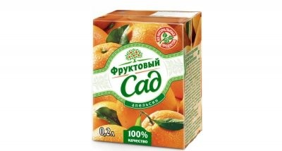 Фруктовый сад Апельсин 200мл купить в Москве по цене от 0 рублей