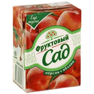Фруктовый сад Персик/яблоко 200мл купить в Москве по цене от 0 рублей