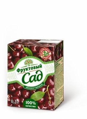 Фруктовый сад Вишня/яблоко 200мл купить в Москве по цене от 0 рублей