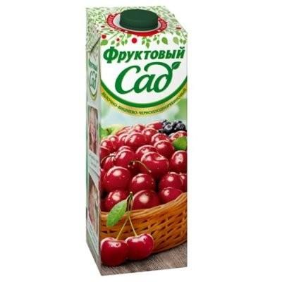 Фруктовый сад Вишня/яблоко 950мл купить в Москве по цене от 0 рублей