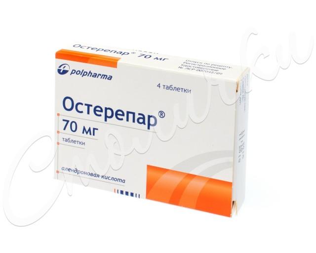 Остерепар таблетки 70мг №4 купить в Москве по цене от 422.5 рублей