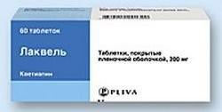 Лаквель таблетки 200мг №60 купить в Москве по цене от 0 рублей