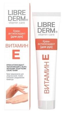 Либридерм крем для рук Витамин Е 125мл купить в Москве по цене от 292 рублей