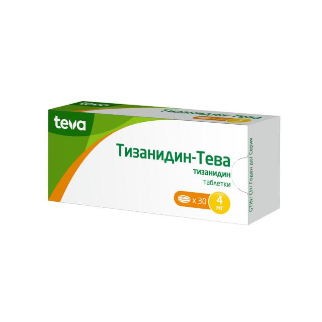 Тизанидин таблетки 4мг №30 купить в Москве по цене от 179 рублей