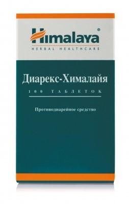 Диарекс-Хималайя таблетки №100 купить в Москве по цене от 295 рублей