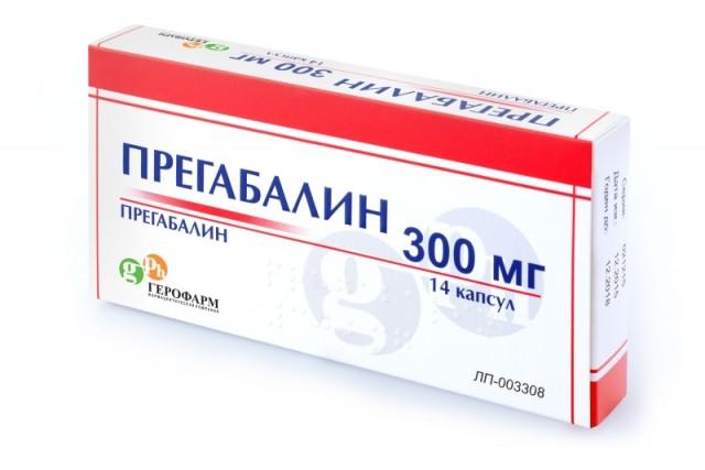 ПКУ Прегабалин капсулы 300мг №14 купить в Москве по цене от 313 рублей