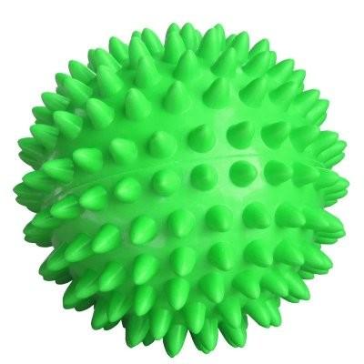Мяч массаж. 7см зеленый (ежик) L0107 купить в Москве по цене от 115 рублей