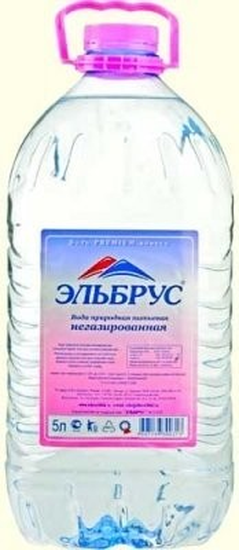 Вода минеральная Эльбрус 5л ПЭТ (б/газ) купить в Москве по цене от 92 рублей