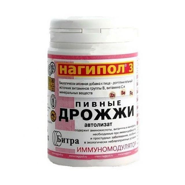 Нагипол-3 таблетки 500мг №100 (иммуномодулятор) купить в Москве по цене от 140 рублей