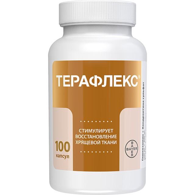 Терафлекс капсулы №100 купить в Москве по цене от 2120 рублей
