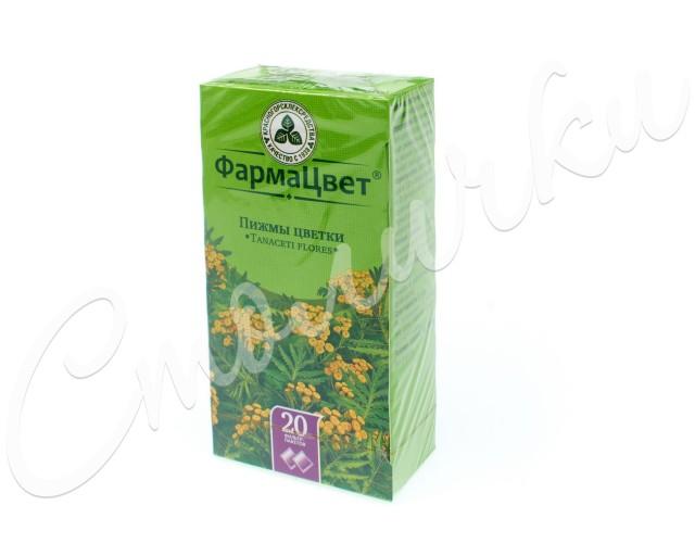 Пижма цветки 1,5г №20 купить в Москве по цене от 76 рублей