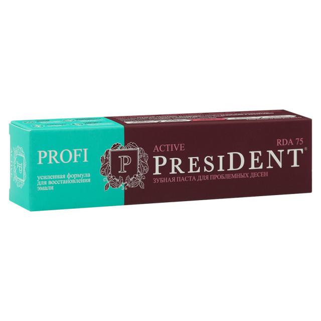 Президент зубная паста Актив 50мл купить в Москве по цене от 206 рублей