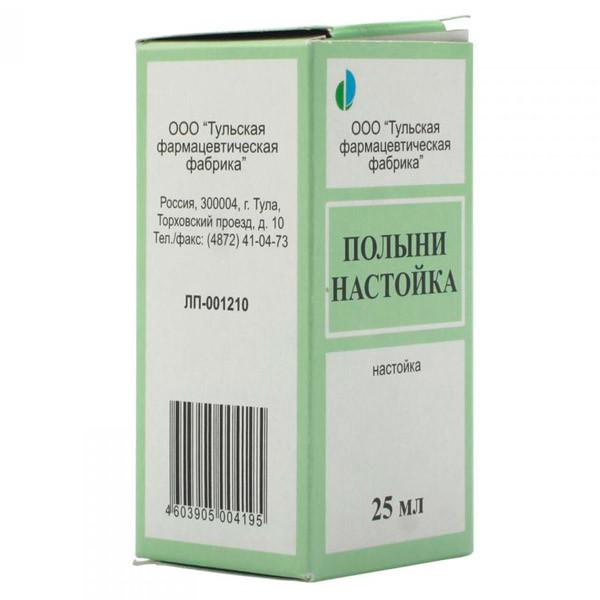 Полынь настойка 25мл купить в Москве по цене от 54 рублей