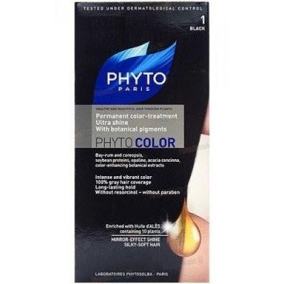Фитосольба Фитоколор краска для волос т.1 черный купить в Москве по цене от 1690 рублей