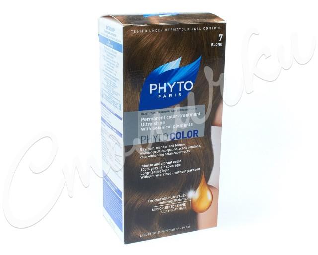 Фитосольба Фитоколор краска для волос т.7 блонд купить в Москве по цене от 0 рублей