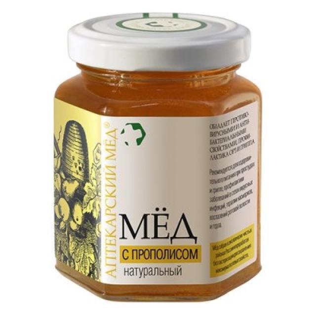 Аптекарский мед прополис 250г купить в Москве по цене от 0 рублей