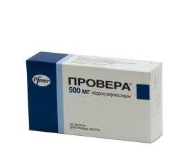 Провера таблетки 500мг №30 купить в Москве по цене от 2748 рублей