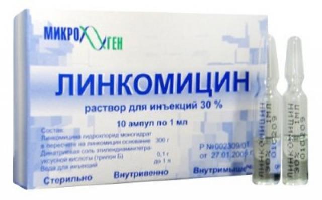 Линкомицин Синтез раствор для инъекций 30% 1мл №10 купить в Москве по цене от 135 рублей