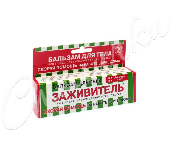 Заживитель бальзам д/ран 30мл купить в Москве по цене от 82 рублей