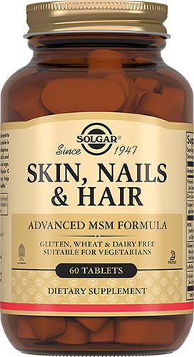 Солгар для кожи, волос и ногтей таблетки №60 купить в Москве по цене от 1760 рублей