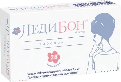 Ледибон таблетки 2,5мг №28 купить в Москве по цене от 842 рублей