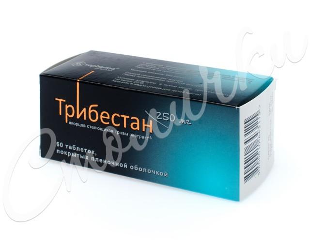Трибестан таблетки п.о 250мг №60 купить в Москве по цене от 1860 рублей
