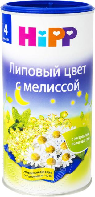 Хипп чай детский Липовый цвет/мелисса с 4 мес. 200г купить в Москве по цене от 377 рублей