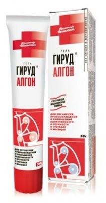 Гирудалгон гель для тела 50г купить в Москве по цене от 111 рублей