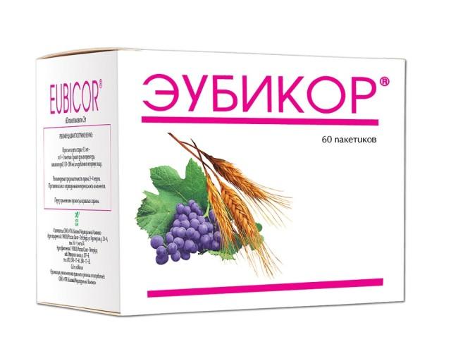 Эубикор порошок 3г №60 купить в Москве по цене от 353 рублей