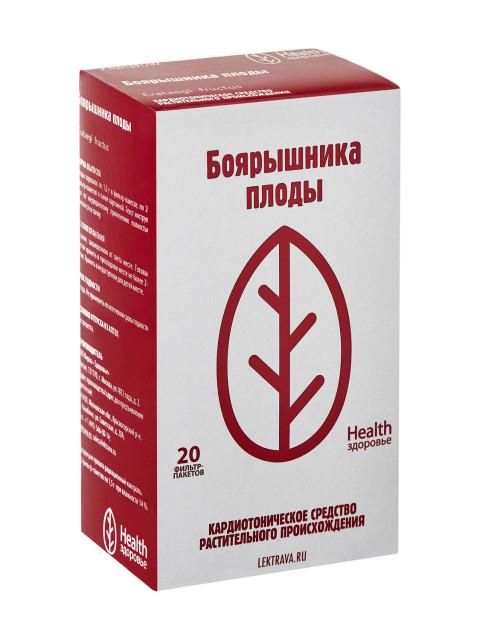 Боярышник плоды Здоровье 1,5г №20 купить в Москве по цене от 68 рублей